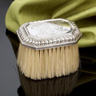 Silver Antique Hair Brush