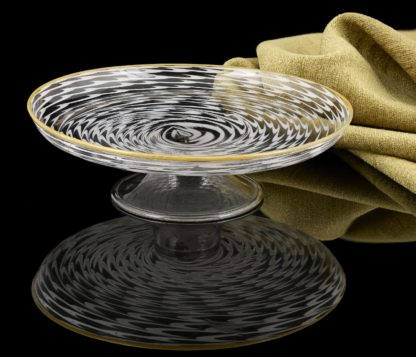 17th Century Unique Venetian Glass Tazza