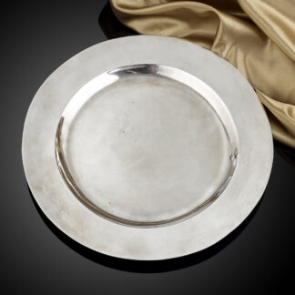 An early English silver Plate from the reign of James I